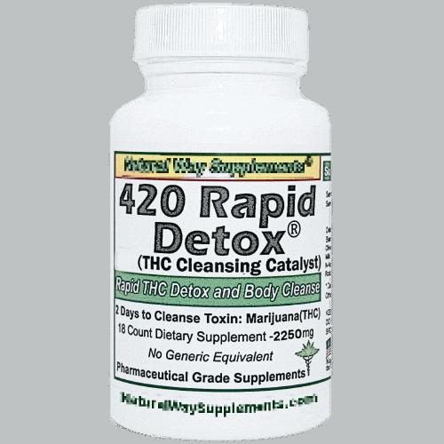 420 Rapid Detox THC cleanse formula