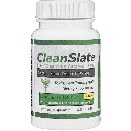 Clean Slate THC removal pills