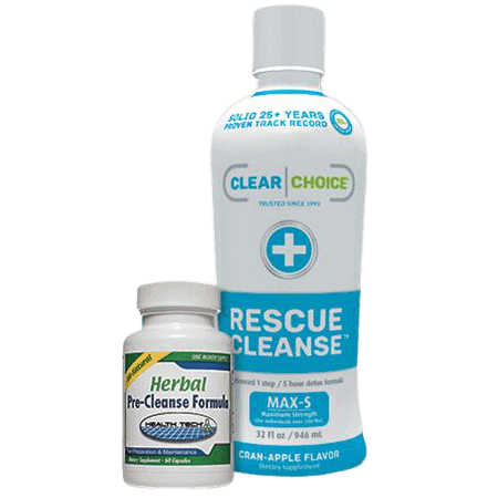 Clear Choice Rescue Cleanse 32oz with Pre-Cleanse