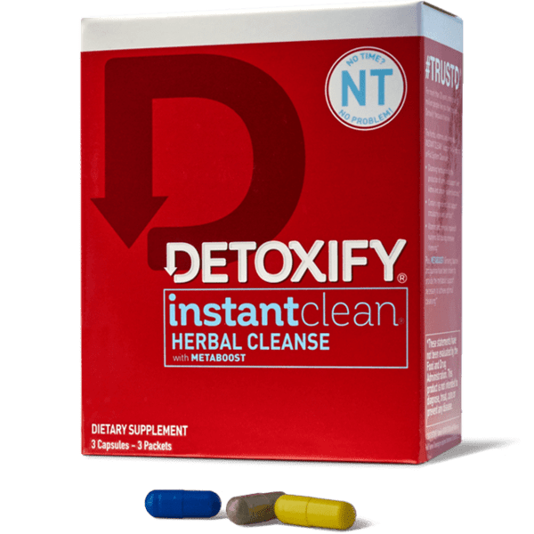 Detoxify Instant Clean for drug test