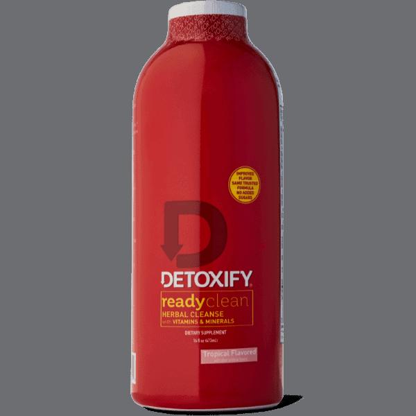 Detoxify Ready Clean 16 oz bottle