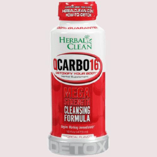 Herbal Clean QCarbo16 mega strength cleansing formula
