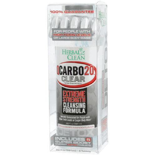 QCarbo20 Clear extreme strength with pills