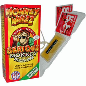 Monkey Whizz synthetic urine belt kit