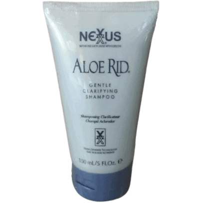 Nexxus Aloe Rid old formula shampoo