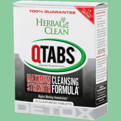 Herbal Clean Q Tabs maximum strength cleansing formula