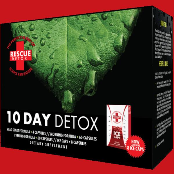 Rescue 10-day THC detox