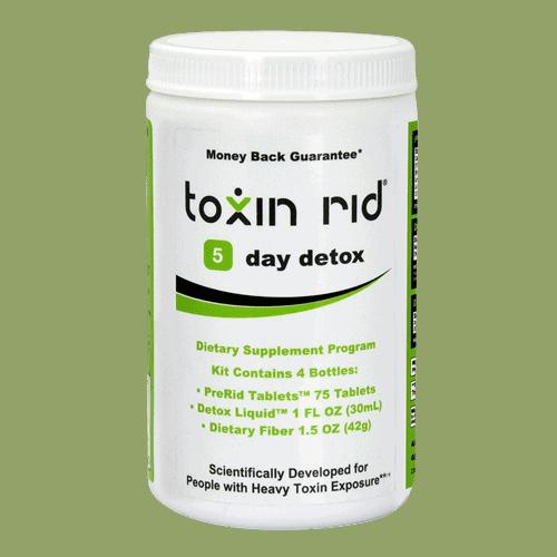 Toxin Rid 5-day detox program