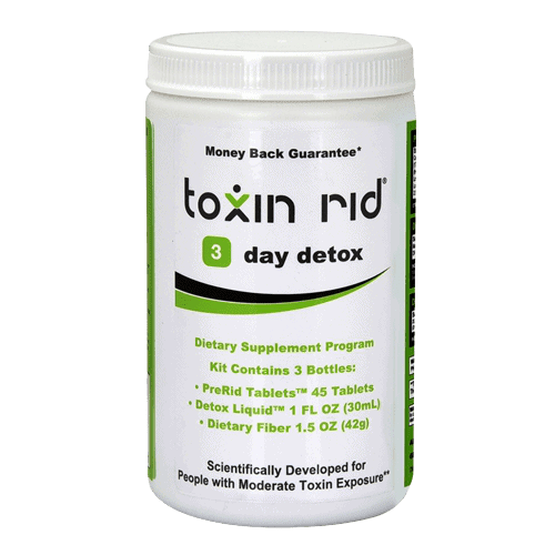 Toxin Rid 3-day detox program