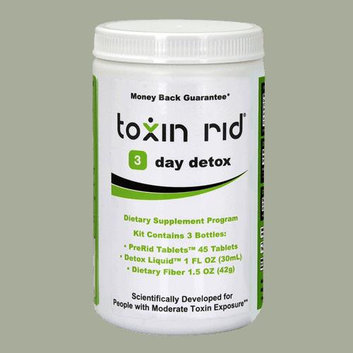 Toxin Rid 3-day detox program