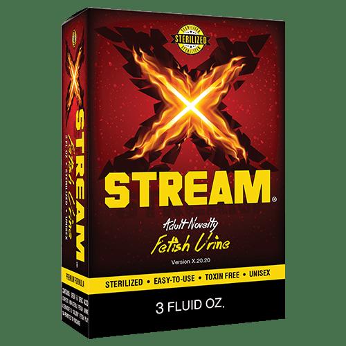 X-Stream fetish urine box
